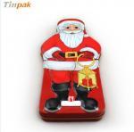 Buy cheap Merry Christmas Santa Claus decoration tin box from wholesalers