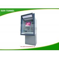 Buy cheap Bank Atm Self Service Kiosk With Cash Acceptor , Cash Dispenser Money Exchange Machine from wholesalers