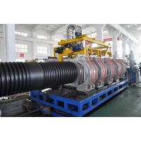 Buy cheap SBG800 Double Wall Corrugated Pipe Extrusion Line , Plastic Pipe Making Machinery from wholesalers