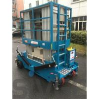 Buy cheap One Person Hydraulic Elevating Platform , 18m Height Multi Mast Aerial Platform Lift from wholesalers