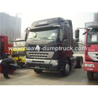 Buy cheap High Roof Cabin Automatic Tractor Trailer With 371 hp Powerful Engine For Towing Trailers from wholesalers
