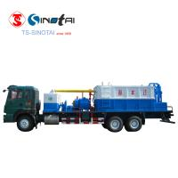 Buy cheap Water recycled 400 Type sand washing truck from wholesalers