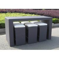 Buy cheap Outdoor rattan wine bar set-16083 from wholesalers