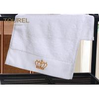 Buy cheap 100% Cotton Bath Hotel Towel Set Soft Touch 200-600gsm  with Golden Logo from wholesalers