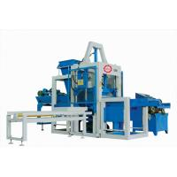 Buy cheap Auto Cement Block Making Machine , Table Vibration Concrete Brick Maker Machine from wholesalers