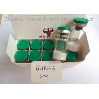 Buy cheap Research Chemical 99.9% Human Growth Peptide Powder 10mg/vial Ghrp-6 For Weight Loss from wholesalers