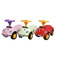 Buy cheap Good quality 3 colors cute plastic baby ride on toy car from wholesalers
