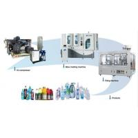 Buy cheap Fully Automatic Rotary Blow Molding Machine Small Space Electric Motor from wholesalers