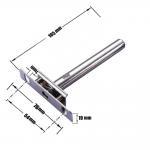Buy cheap Movable Decorative Metal Shelf Brackets Heavy Duty Wall Shelf Brackets from wholesalers