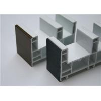 Buy cheap Extruded Plastic PVC / UPVC Window Profiles 88mm sliding door frame from wholesalers
