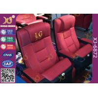 Buy cheap Cinema Theatre Furniture Lounge Back Folding Up Chairs With Spring Seat from wholesalers