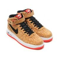 Buy cheap NIKE AIR FORCE 1 MID CORK AF1 Wood Color Man's Sports Shoes Skateboard The Young Shoe Fast Shipping To Mostly Countries from wholesalers