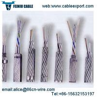 Buy cheap OPGW Cable Fiber Optic Manufacturers Per Meter Price from wholesalers