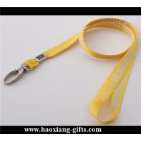 Buy cheap factory price 20*900mm blank sublimation printing lanyard with metal buckle from wholesalers