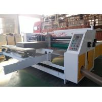 Buy cheap Auto Stacker Thin Blade Slitter Scorer Machine / Carton Cardboard Making Machine from wholesalers