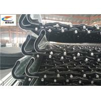 Buy cheap High Tensile Heavy Duty Steel Mesh , Lock Crimp Mining Screen Mesh With Hook from wholesalers
