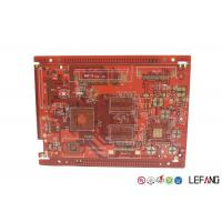 Buy cheap Red Solder Mask PCB Printed Circuit Board Communication Electronics Application product