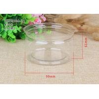 Buy cheap Tea Packaging Clear Plastic Cylinder Plastic Cylinder Containers With Lids from wholesalers