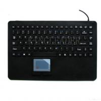 Buy cheap Ip68 Rated Washable Silicone Keyboard With Integrated Touchpad from wholesalers