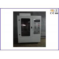 Buy cheap 90 / 45 Degree Flammability Tester , Flame Retardant Test For Hard Casing from wholesalers