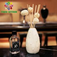 Buy cheap Rattan Reed Diffuser Home Aroma Flower in Ceramic Bottle Reed Diffuser Gift Set from wholesalers