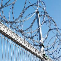 Buy cheap Military Razor Wire Fence High Strength Unique Appearence Convenient Installation from wholesalers