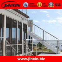 Buy cheap Stainless steel handrails for outdoor steps banisters from wholesalers
