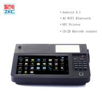 Buy cheap 8inch touch screen auto-cutter 80mm thermal printer lottery billing pos with 4g wifi nfc scanner from wholesalers