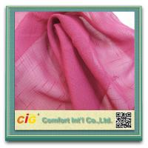 Buy cheap Tear-Resistant Durable Contemporary Curtain Fabric , Crystal Curtains Sheer Fabrics product