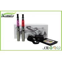 Buy cheap FDA Vapor Ego E Cig With Evod Battery CE4 / H2 Clearomizer from wholesalers