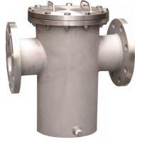 Buy cheap Steel Water Meter Strainer ANSI 150# RF Flanged Basket Strainers product