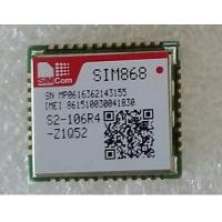 Buy cheap SIMCom  Wireless  GSM/GPRS+GPS/GNSS Module  SIM868 instead of SIM908 and SIM808 product