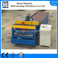 Buy cheap Automatic Glazed Tile Roll Forming Machine With Elegant Appearance from wholesalers