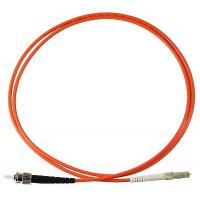 Buy cheap ST UPC to LC UPC Simplex  Multimode OM2 2.0mm PVC (OFNR) 50/125 Fiber Patch Cable from wholesalers