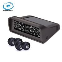 Buy cheap Car TPMS tire pressure monitoring system pressure and temperature alert solar powered LCD display product