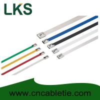 Buy cheap 4.6*650mm 316/304/201 grade Ball-lock stainless steel cable ties from wholesalers