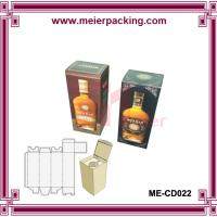 Buy cheap 0.5l/1l vodka wine bottle packaging paper box/Europe class wine packing box ME-CD022 from wholesalers