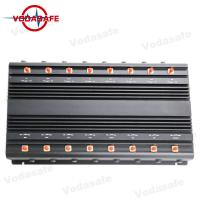 Buy cheap 5.8G Full Band Wifi Signal Jammer Device , Wifi Blocker Jammer 42W Total Output from wholesalers