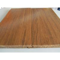 Buy cheap Click lock Carbonized Strand Woven Bamboo Flooring from wholesalers