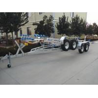 Buy cheap RIB-850 Inflatable Boat Trailer With Brake Two Shaft Hot Dip Galvanized Process from wholesalers