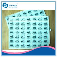 Buy cheap Self Adhesive Vinyl Labels , Embossing PE Permanent Adhesive Stickers from wholesalers