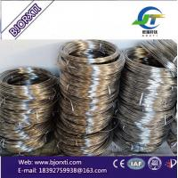Buy cheap Gr2 Titanium Welding Coiled Wire Factory Suppliers  low Price for sale from wholesalers