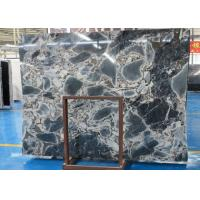Fantacy Blue Marble Stone Slab  Window Sills Use Size Optional Wear Resistant