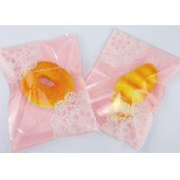 Buy cheap Pink Colored Biodegradable Plastic Cake Bags Disposable Self - Sealing 16*22cm from wholesalers
