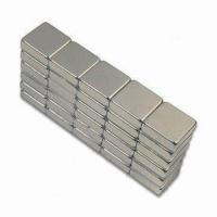 Quality Permanent Magnets with Zn, Ni, Gold and Epoxy Coating, Available in Various Shapes for sale