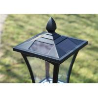 Buy cheap 6 Ultra Bright Solar Post Lights 1.2 M Solar Powered Lamp Post Lights from wholesalers