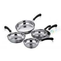 Buy cheap 5Pcs Bakelite Handle Cheap Stainless Steel Pan Induction Cookware Set from wholesalers