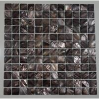 Buy cheap Groutless Mother Of Pearl Subway Tile Backsplash Home Depot Polished Finish from wholesalers