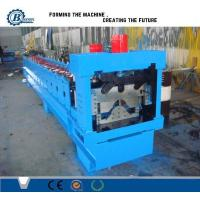Buy cheap PLC Hydraulic Automatic Galvanized Rolling Form Line / Metal Ridge Cap Forming Equipment from wholesalers