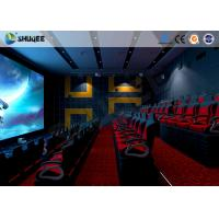 Buy cheap Electronic 4D Theater System 4D Motion Chair Surrounding Environment Simulation from wholesalers